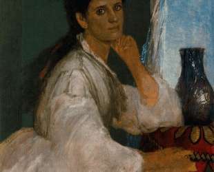 Portrait of Clara Bocklin — Арнольд Бёклин