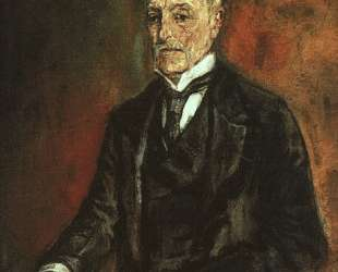 Portrait of Commerce Counselor Ebenstein — Оскар Кокошка