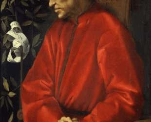 Portrait of Cosimo de' Medici the Elder — Джакопо Понтормо
