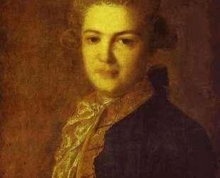 Portrait of Count Artemiy Ivanovich Vorontsov — Фёдор Рокотов