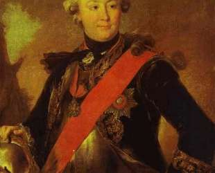 Portrait of Count G. G.Orlov — Фёдор Рокотов