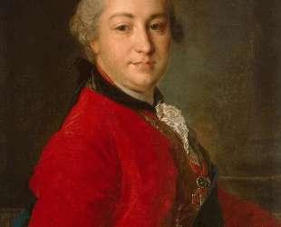 Portrait of Count Ivan Shuvalov — Фёдор Рокотов