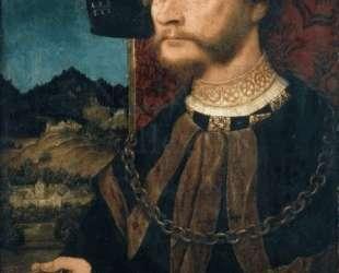 Portrait of Count Johann II, Count of Montfort and Rothenfels — Бернхард Штригель