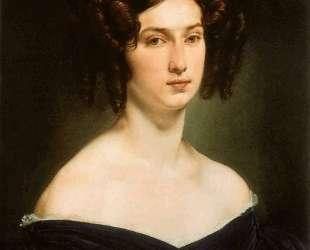 Portrait of Countess Luigia Douglas Scotti d'Adda — Франческо Хайес