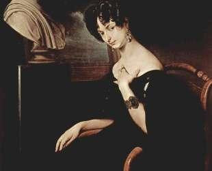 Portrait of Cristina di Belgiojoso Trivulzio — Франческо Хайес