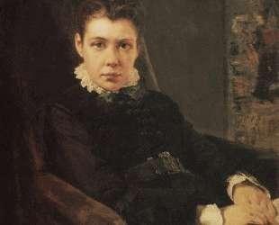 Портрет В. Д.Хрущевой, сестры художника — Василий Поленов