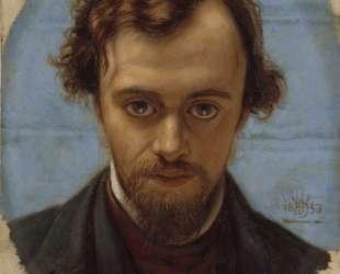 Portrait of Dante Gabriel Rossetti — Уильям Холман Хант