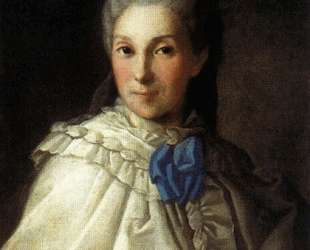 Portrait of Daria Aleksandrovna Troubetskaya — Карл Людвиг Христинек