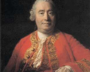 Portrait of David Hume — Аллан Рэмзи