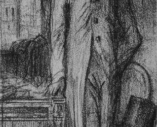 Portrait of Degas in Florence — Гюстав Моро