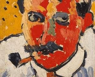 Portrait of Derain — Морис де Вламинк