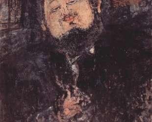 Портрет Диего Риверы — Амедео Модильяни