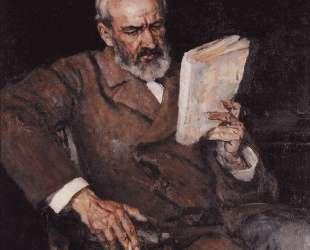 Портрет доктора А. Д. Езерского — Василий Суриков