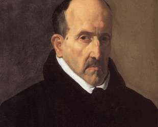 Portrait of Don Luis de Gongora y Argote — Диего Веласкес