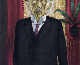 Portrait of Dr Heinrich Stadelmann — Отто Дикс