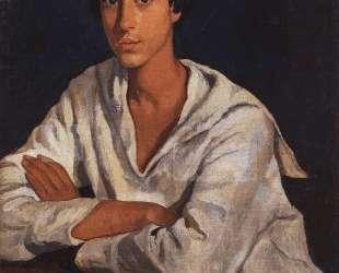 Портрет Е. И.Золотаревского в детстве — Зинаида Серебрякова