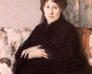 Portrait of Edma Pontillon — Берта Моризо