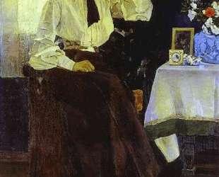 Portrait of Ekaterina Nesterova — Михаил Нестеров