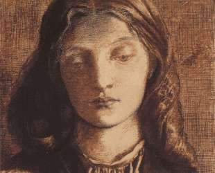 Portrait of Elizabeth Siddal — Данте Габриэль Россетти