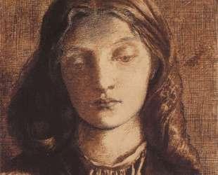 Portrait of Elizabeth Siddal — Данте Габриэль Россетти