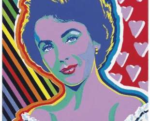 Portrait of Elizabeth Taylor — Хиро Ямагата
