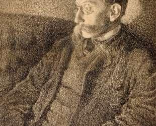 Portrait of Emile Verhaeren — Тео ван Рейссельберге