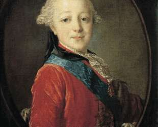 Portrait of Emperor Paul I as a Child — Фёдор Рокотов