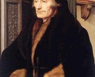 Portrait of Erasmus of Rotterdam — Ганс Гольбейн Младший