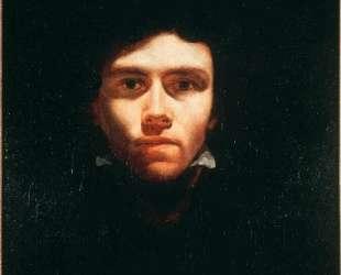 Portrait of Eugene Delacroix — Теодор Жерико