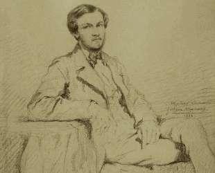 Portrait of Eugene `Lacheur — Гюстав Моро