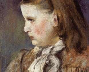 Portrait of Eugenie Estruc — Камиль Писсарро