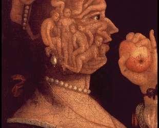 Портрет Евы — Джузеппе Арчимбольдо