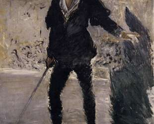 Portrait of Faure as Hamlet — Эдуард Мане