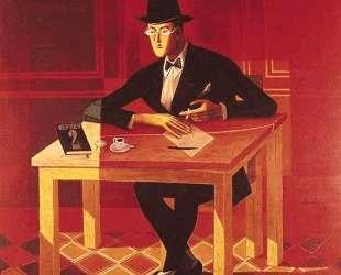 Portrait of Fernando Pessoa — Хосе де Альмада Негрейрос