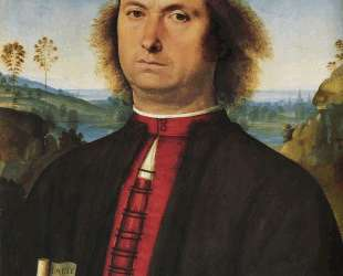 Портрет Франческо делле Опере — Пьетро Перуджино
