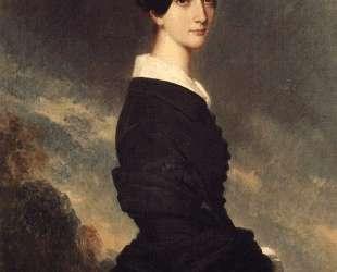 Portrait of Francisca Caroline de Braganca — Франц Ксавер Винтерхальтер
