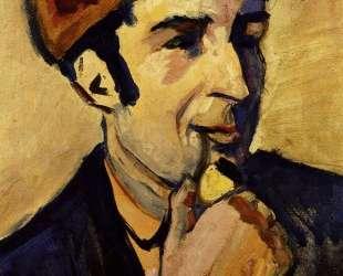 Portrait of Franz Marc — Август Маке