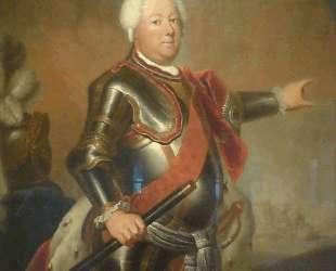 Portrait of Frederick William I of Prussia — Антуан Пэн