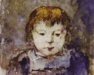 Портрет дочери Гогена Алины — Поль Гоген