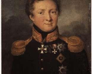 Портрет генерала А. И.Горчакова — Василий Тропинин