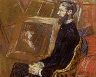 Portrait of Georges Henri Manuel — Анри де Тулуз-Лотрек