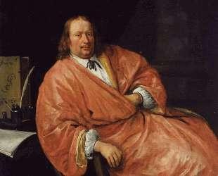 Portrait of Gerrit Gerritsz Schouten — Ян Стен