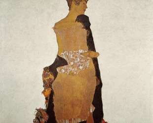 Portrait of Gerti Schiele — Эгон Шиле