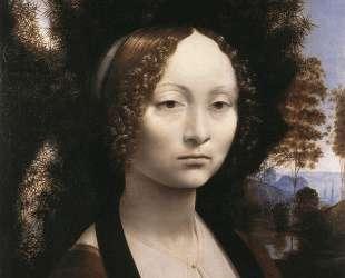 Portrait of Ginevra Benci — Леонардо да Винчи