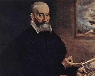 Портрет Джулио Кловио — Эль Греко