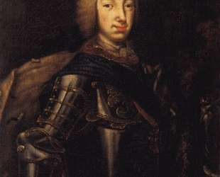 Portrait of Grand Duke Peter Fedotovich (later Peter III), — Алексей Антропов