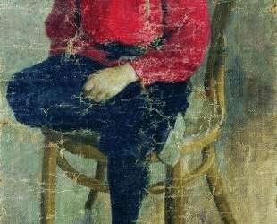 Портрет Гурия Николаевича Смирнова, двоюродного брата художника — Борис Кустодиев