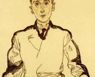 Portrait of Heinrich Rieger — Эгон Шиле