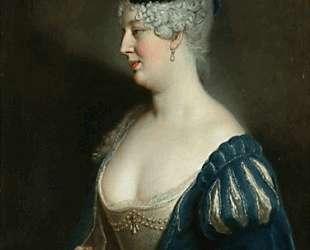 Portrait of Henriette von Zerbsten — Антуан Пэн