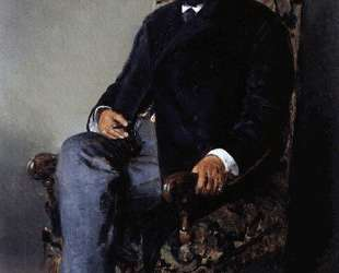 Портрет И. Е.Цветкова — Владимир Маковский